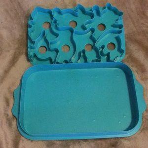 Tupperware Animal Jello Jiggler Mold